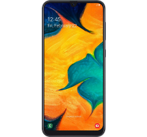 Смартфон Samsung Galaxy A30 32GB Черный